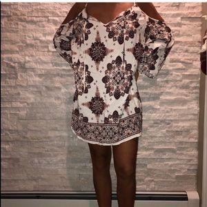 Forever 21 boho dress brand new only worn on model